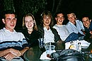 At the Sequoia: Mike, Anke, Erich, Adam, Jimmy, Tim